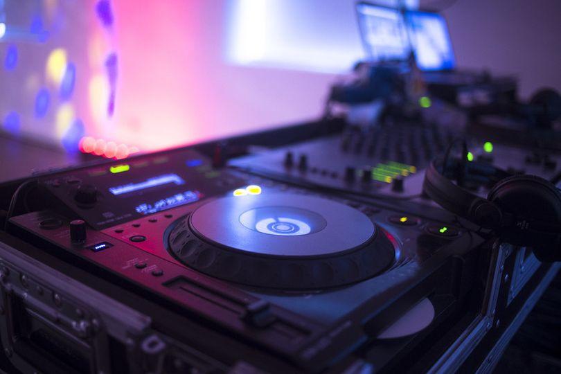 Wedding DJ at Work
