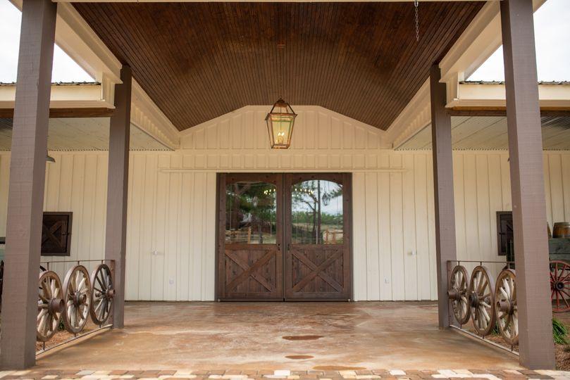 Grand Entry through Barn Doors