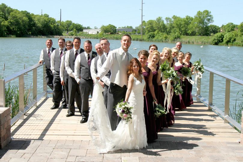 Wedding at the dock | Credit: renee massingham photo