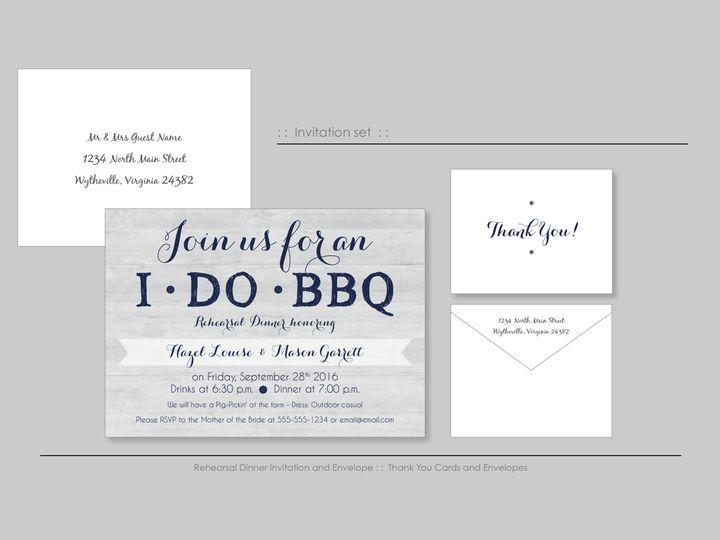 Tmx 1526925705 A001f37eb04ca76e 1526925702 42e84f80e1095db0 1526925698528 3 BlueBarn Wappingers Falls, New York wedding invitation