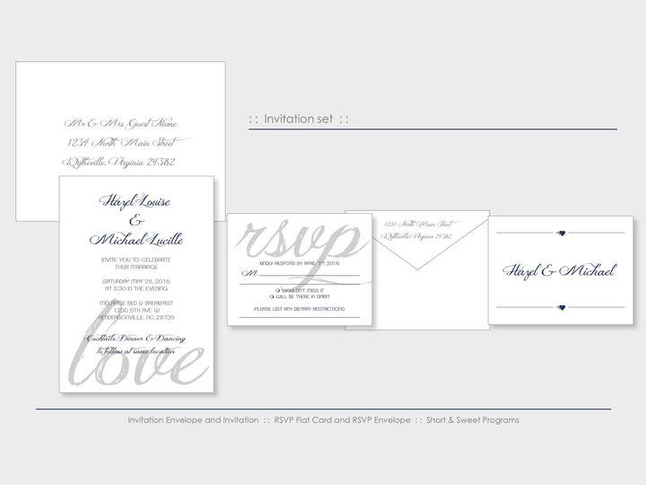 Tmx 1526925706 658a2003326e7c70 1526925702 Acacd940776e448a 1526925698532 4 BlueMtnLove Wappingers Falls, New York wedding invitation