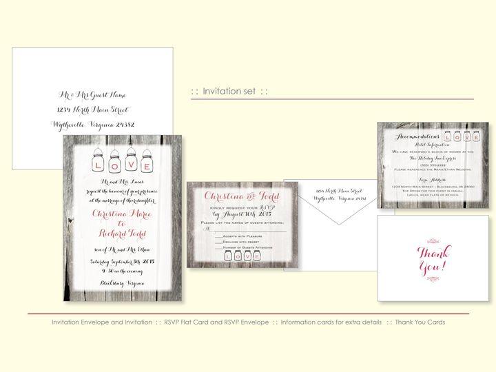 Tmx 1526925707 7a3bbe1700eda0e9 1526925703 720afd916d64c223 1526925698544 10 PinkBarn Wappingers Falls, New York wedding invitation