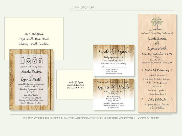 Tmx 1526925713 889b9be0b9ec2fa0 1526925710 662b830541033de4 1526925698552 14 TreeDesign Wappingers Falls, New York wedding invitation