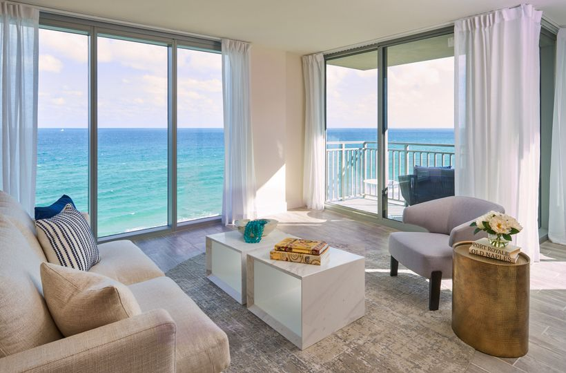 Luxury oceanview suite