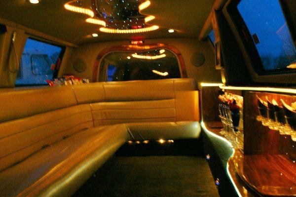 14 passenger Excursion Interior