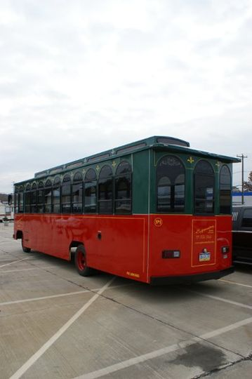Our 28 Passenger Trolley