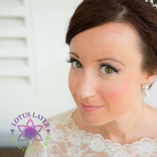 Bridal lash extentions4 lash