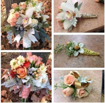 Unique Bouquets and Boutineers