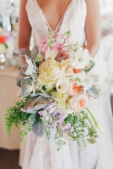 Close Up Bridal Bouquets