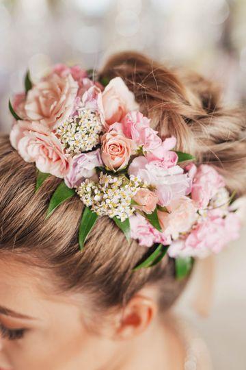 Flower Crown Detail
