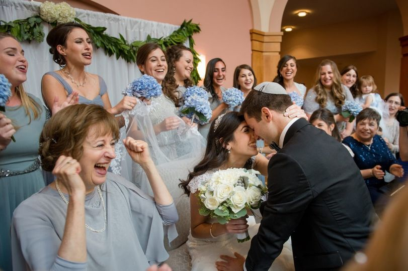 Jewish Wedding Celebration