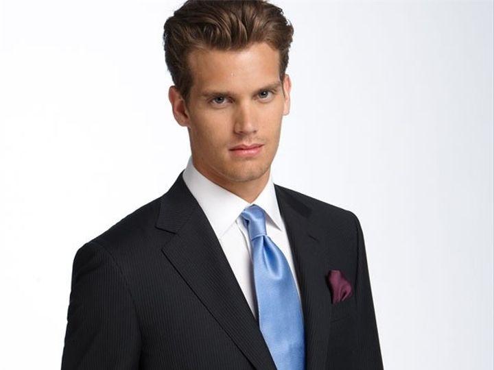 Tmx 1461786599338 Black Stripe Wool Suit Washington wedding dress