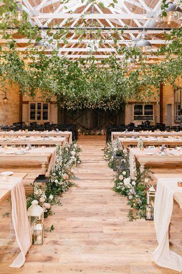 Winter wedding ceremony plan