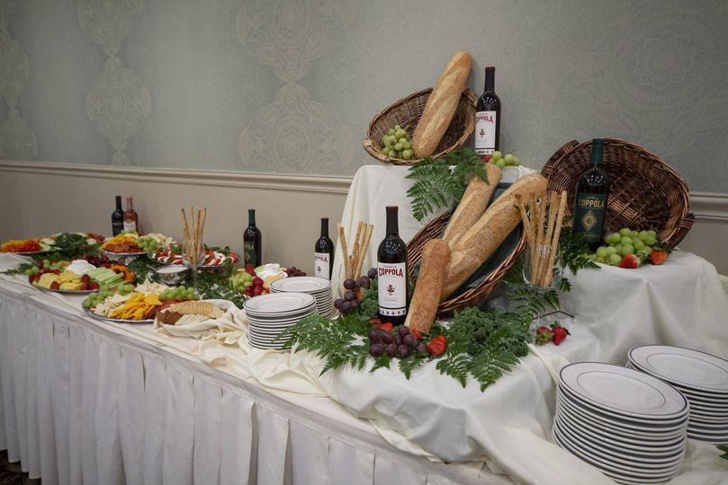 Crudite Table
