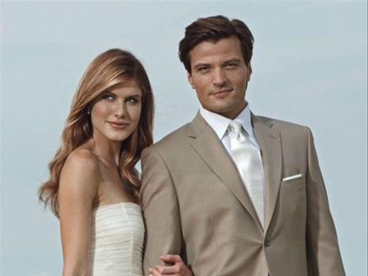 Tmx 1353435121008 Khaki Hyannis wedding dress