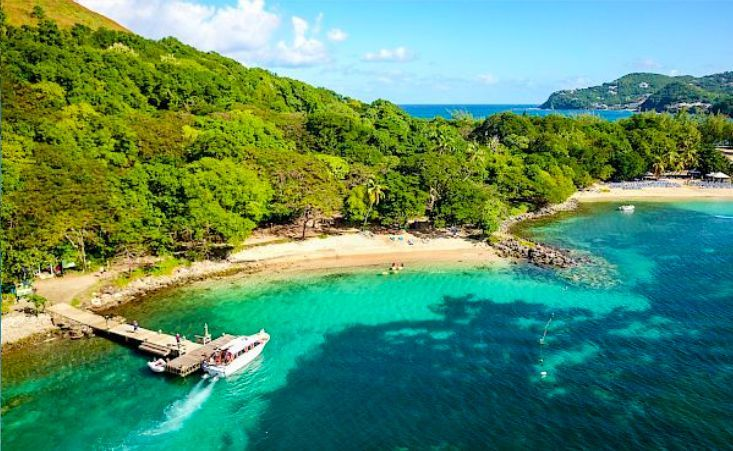 Beautiful island view