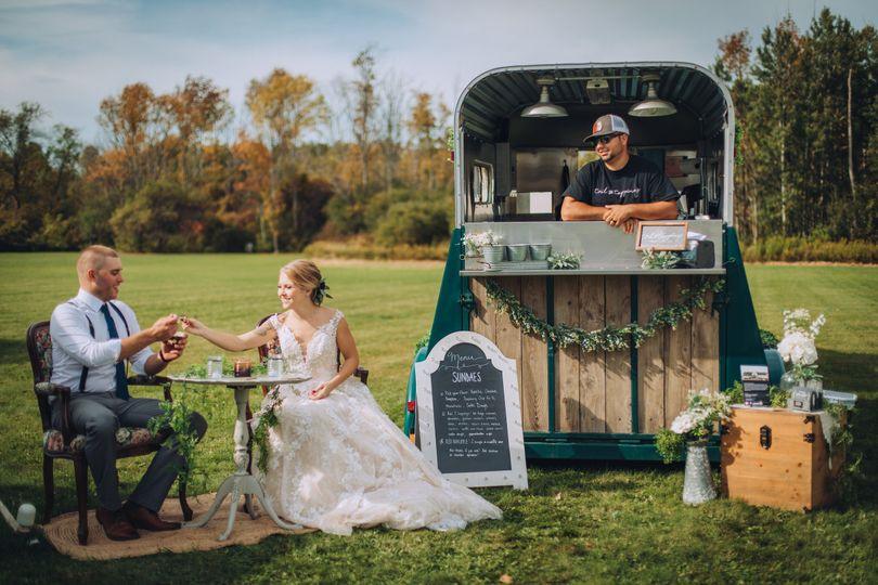 A ice cream stand