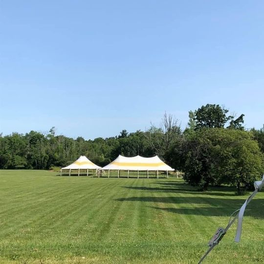 12 acres of manicured property