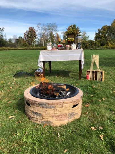The Smores Station