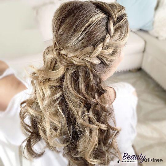 Simple braided halos