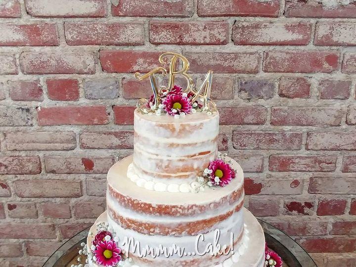 Tmx Naked Wedding With Flowers Close Up 51 1047969 Peculiar, MO wedding cake