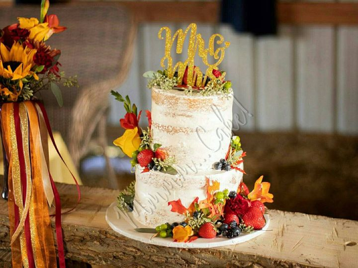 Tmx Naked With Fall Accents 51 1047969 Peculiar, MO wedding cake
