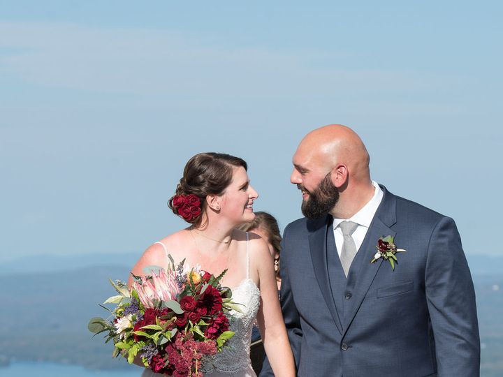 Tmx 1527794187 Af7809f96bf03c00 1527794186 Fb45921d4abae14b 1527794170460 2 StephandChris1 2 Franklin, NH wedding florist
