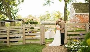 Newlyweds by the fences