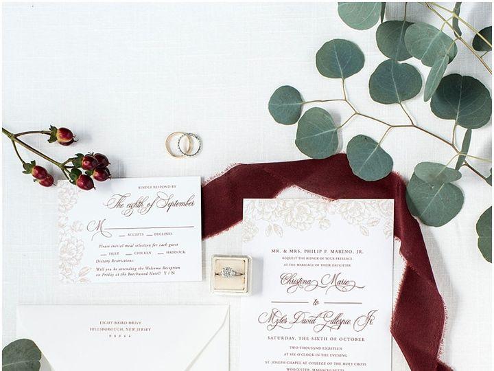 Tmx Classic Floral Custom Wedding Invitation Suite 51 577969 1573585772 Milford wedding invitation
