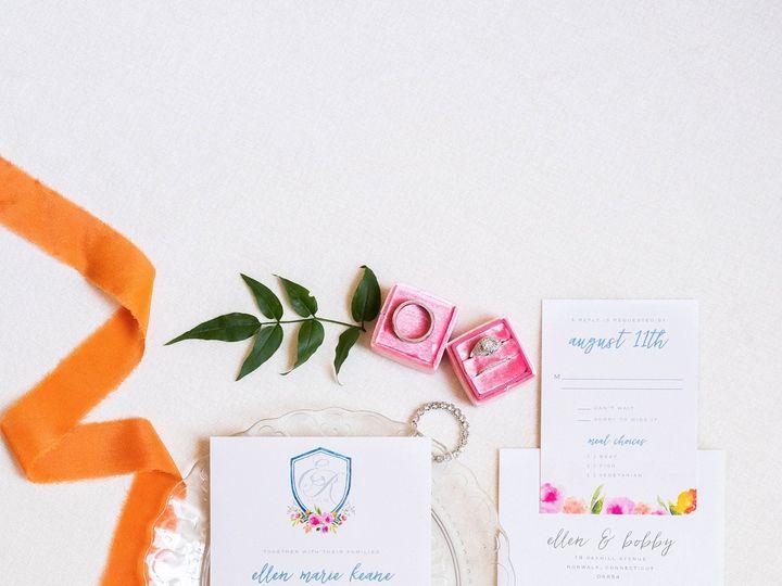Tmx Colorful Watercolor Crest Wedding Invitation Suite 51 577969 1573585796 Milford wedding invitation