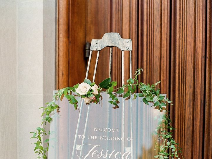 Tmx Custom Acrylic Wedding Sign 51 577969 1573585807 Milford wedding invitation