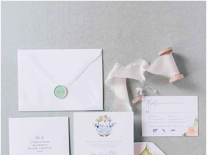 Tmx Longshore Watercolor Crest Wedding Invitation 1 51 577969 1573585887 Milford wedding invitation