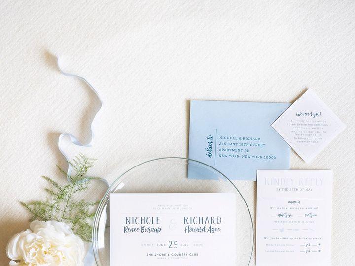Tmx Modern Navy Wedding Invitation 51 577969 1573585911 Milford wedding invitation