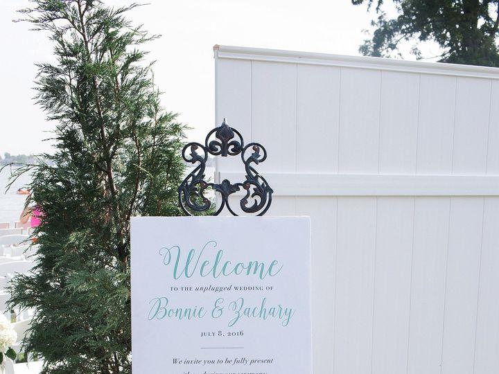 Tmx Unplugged Wedding Sign 51 577969 1573586005 Milford wedding invitation