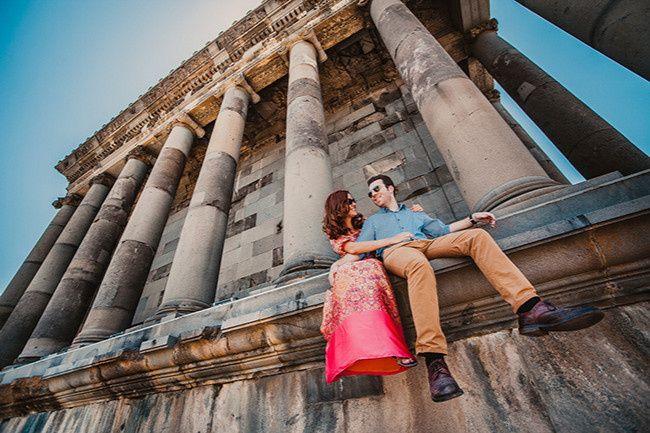 honeymoon couple cultural