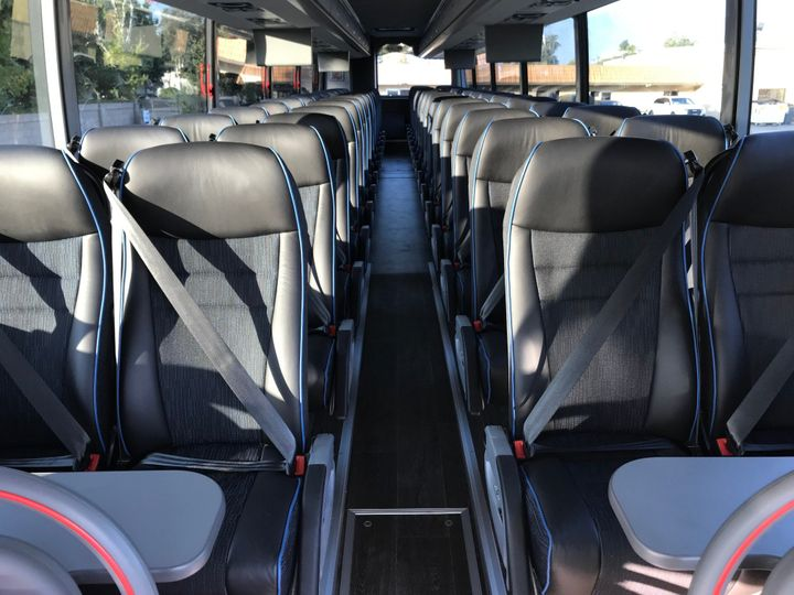 47 Passenger Bus Interior