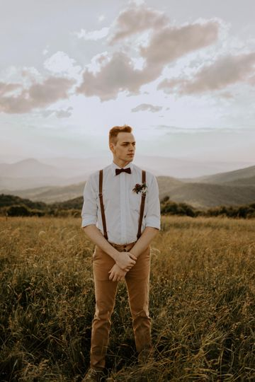 Boho bridals on Max Patch