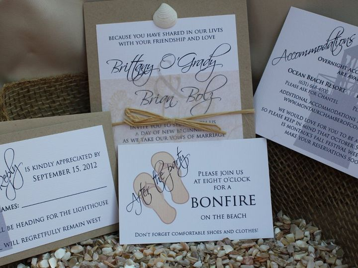 Tmx 1352505986762 IMG0312 Huntington, New York wedding invitation