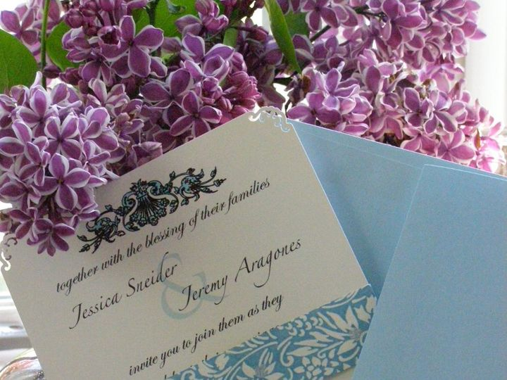 Tmx 1352506566500 P5060349 Huntington, New York wedding invitation
