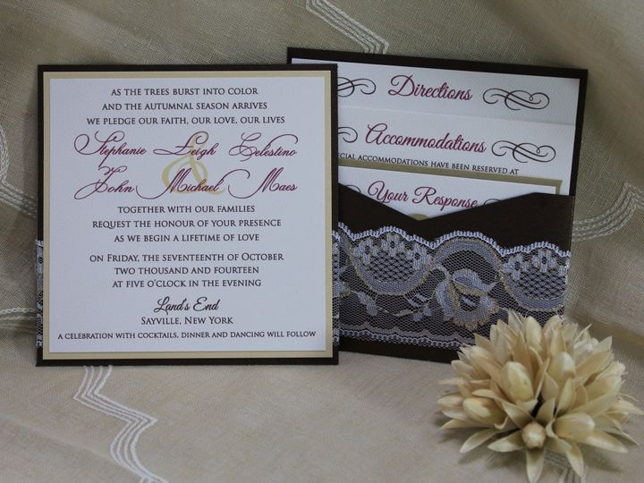 Tmx 1422754385182 Img1433 Huntington, New York wedding invitation