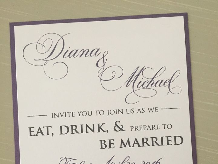 Tmx 1470369932768 Img9704 Huntington, New York wedding invitation
