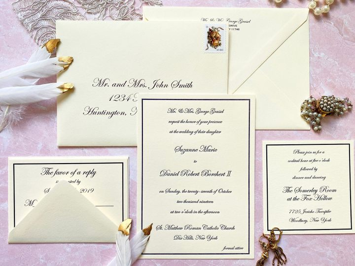 Tmx Wedding Wire 51 571079 158698922370320 Huntington, New York wedding invitation