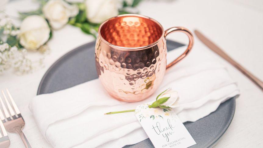 Barrel Style Copper Handle