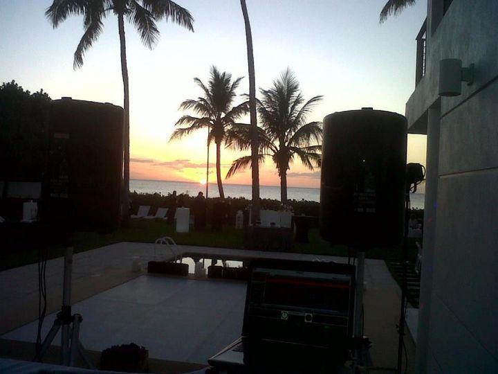 DJ outdoor setup & space