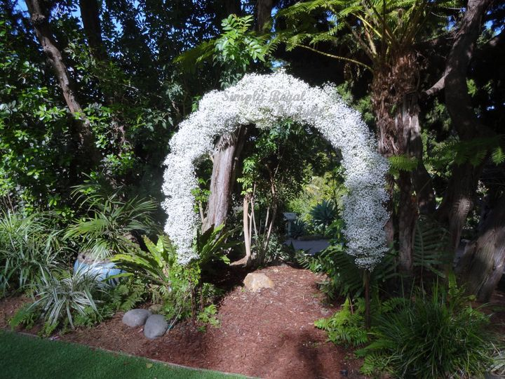 Babies Breath Arch - Simply Regal by Julie
