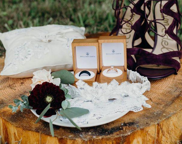 Display of wedding ring