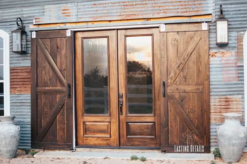 Back barn doors