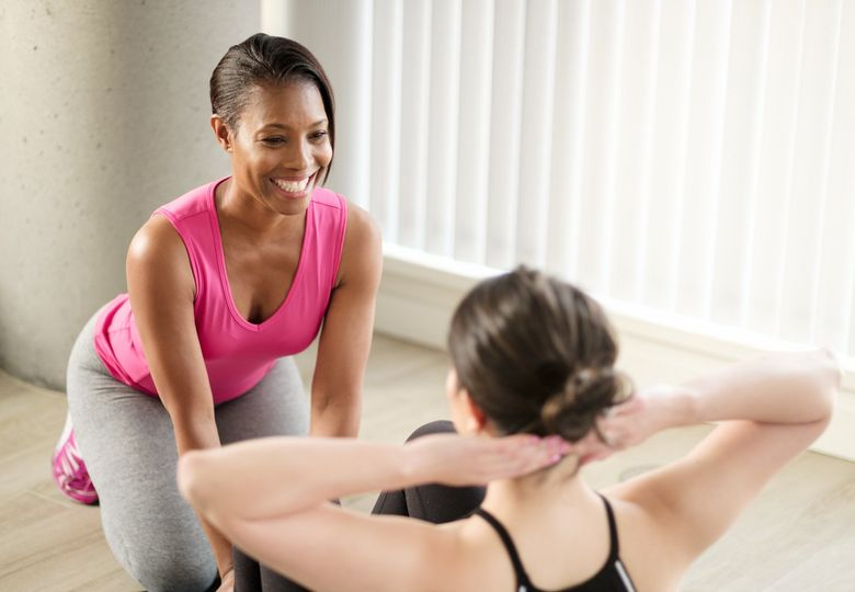 Personal training with a smile