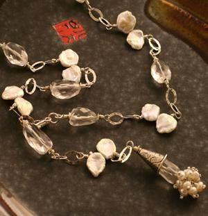 Tmx 1245377196604 TrunktSinelaiNecklace2 Grand Rapids wedding jewelry