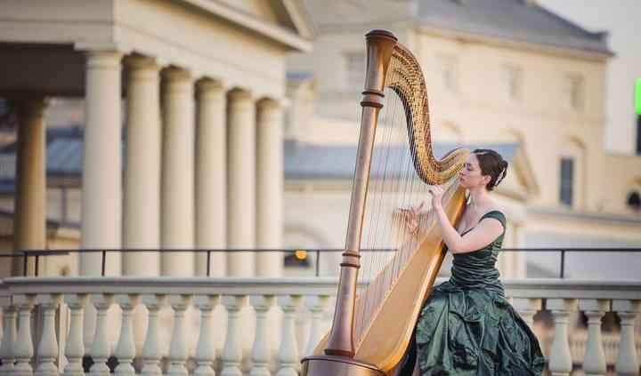 Meghan Kathleen Davis, Harpist